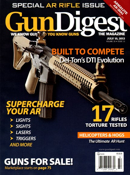 Gun Digest Cover - 7/15/2013