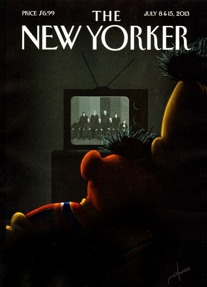 The New Yorker Cover - 7/8/2013