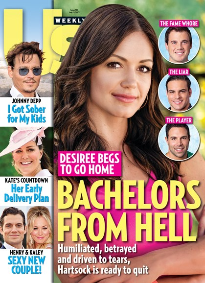 Us Weekly Cover - 7/15/2013