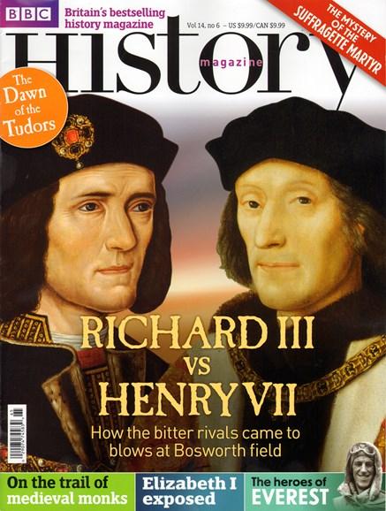 BBC History Cover - 6/1/2013
