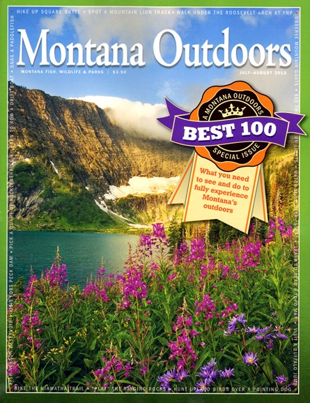 Montana Outdoors Cover - 7/1/2013
