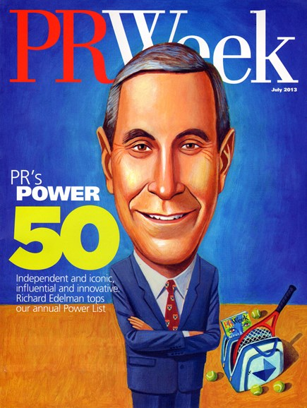 PRWeek Cover - 7/1/2013