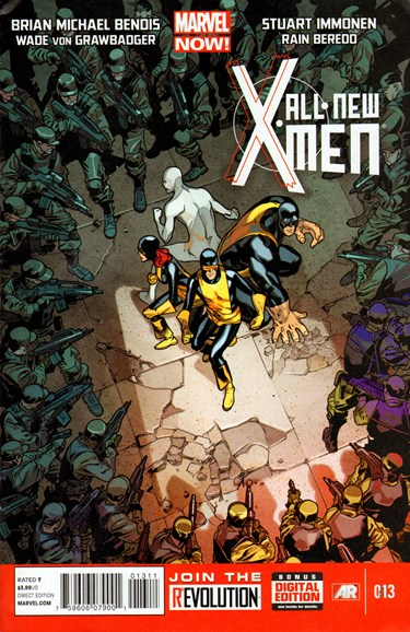 X-Men Blue Cover - 8/1/2013