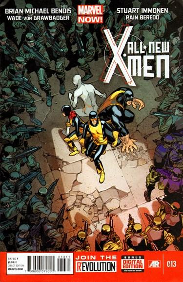 X-Men Blue Cover - 8/1/2013