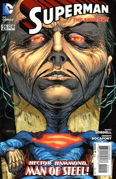 Superman Cover - 8/1/2013