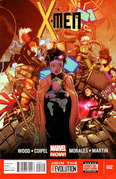 X-Men Gold Cover - 8/1/2013