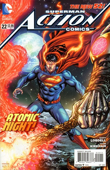 Action Comics Cover - 9/1/2013