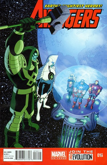 Marvel Universe Avengers Earth's Mightiest Heroes Cover - 9/1/2013