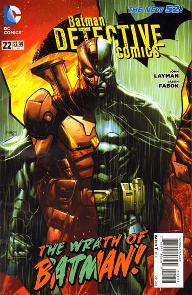 Detective Comics Cover - 9/1/2013