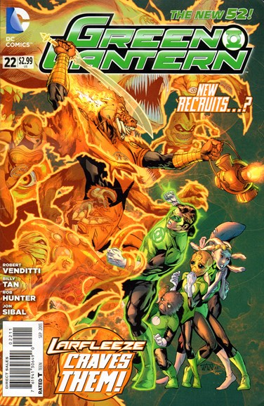 Green Lanterns Cover - 9/1/2013