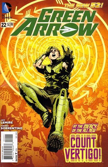 Green Arrow Cover - 9/1/2013