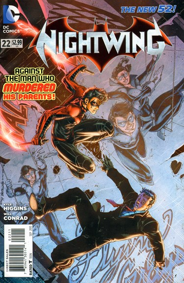 Nightwing Cover - 9/1/2013