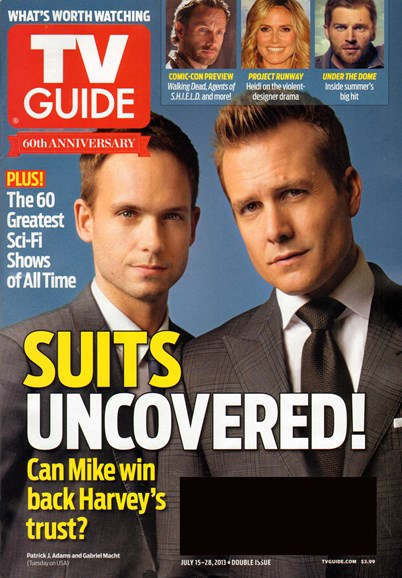 TV Guide Cover - 7/15/2013