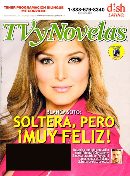 Tv Y Novelas Cover - 7/1/2013
