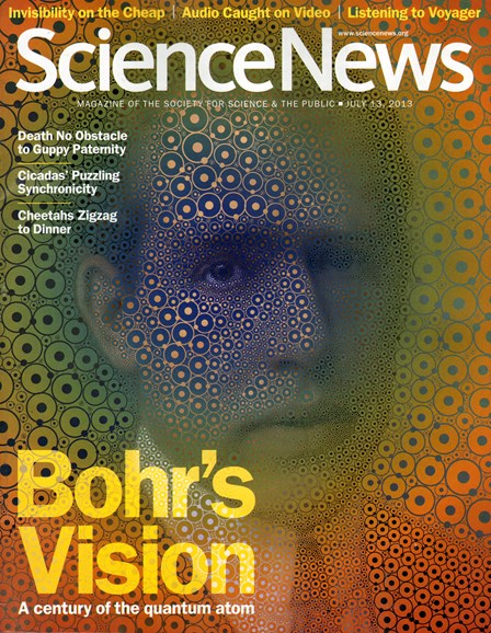 Science News Cover - 7/13/2013