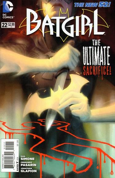 Batgirl Cover - 9/1/2013