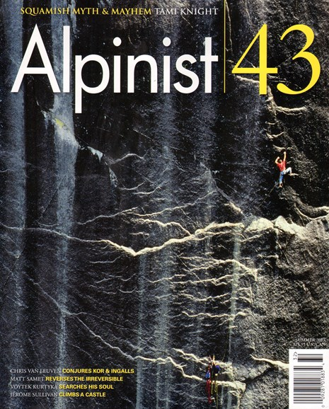 Alpinist Cover - 6/1/2013