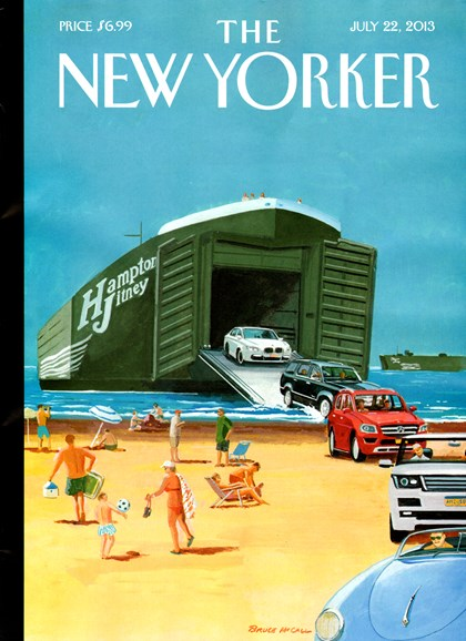 The New Yorker Cover - 7/22/2013