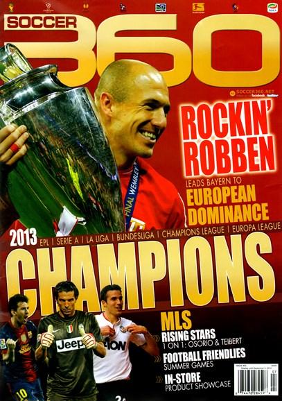 Soccer 360 Cover - 8/1/2013