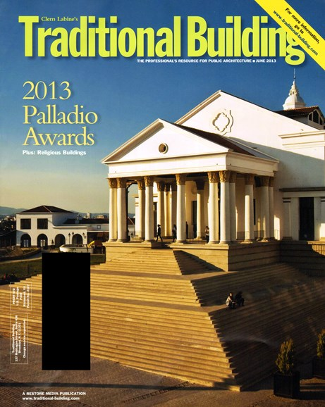 Traditional Building Cover - 6/1/2013