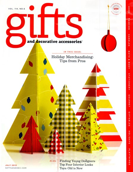 Gifts And Decorative Accessories Cover - 7/1/2013