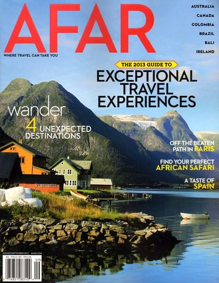 AFAR Cover - 8/1/2013