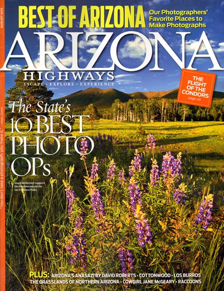 Arizona Highways Cover - 8/1/2013