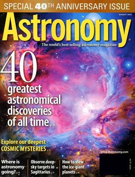Astronomy Cover - 8/1/2013