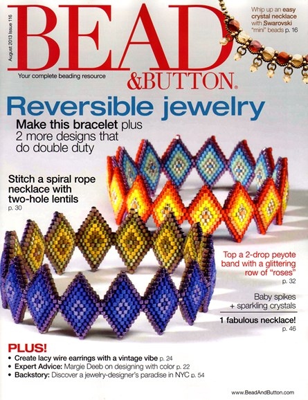 Bead & Button Cover - 8/1/2013