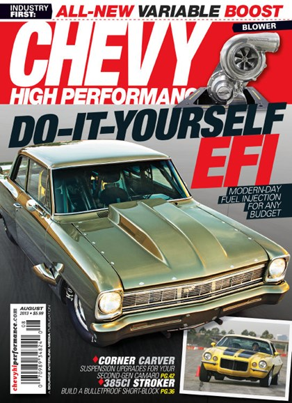 Chevy High Performance Cover - 8/1/2013