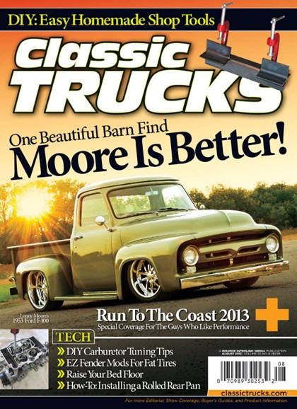 Classic Trucks Cover - 8/1/2013