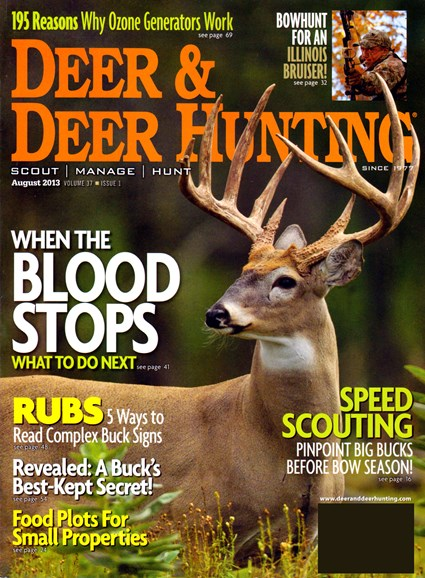 Deer & Deer Hunting Cover - 8/1/2013