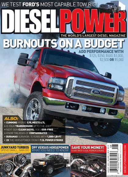 Diesel Power Cover - 8/1/2013