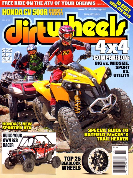 Dirt Wheels Cover - 8/1/2013