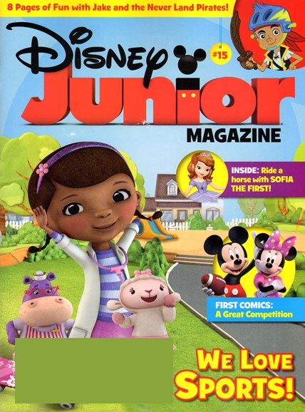 Disney Junior Cover - 8/1/2013