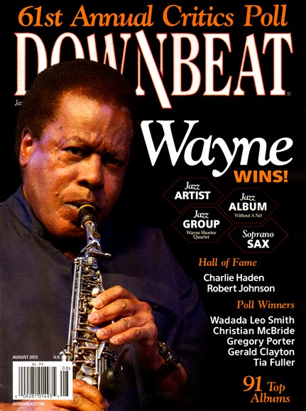DownBeat Cover - 8/1/2013