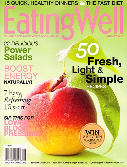 EatingWell Cover - 8/1/2013