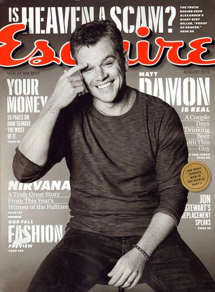 Esquire Cover - 8/1/2013