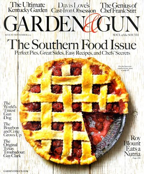Garden & Gun Cover - 8/1/2013