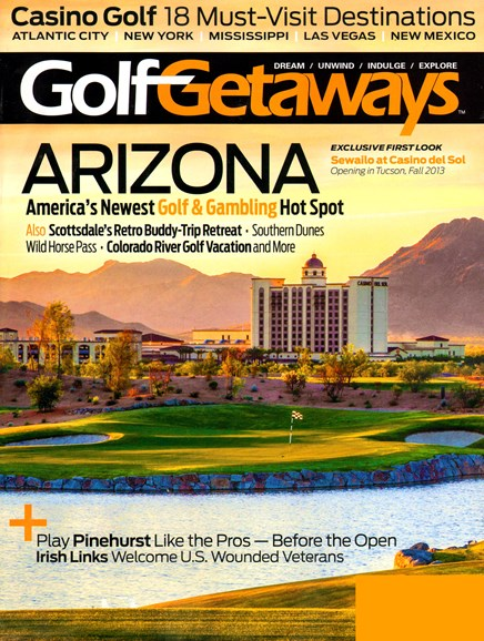 Golf Getaways Cover - 8/1/2013
