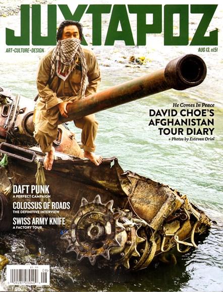Juxtapoz Cover - 8/1/2013