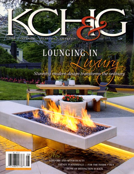 Kansas City Homes & Gardens Cover - 8/1/2013