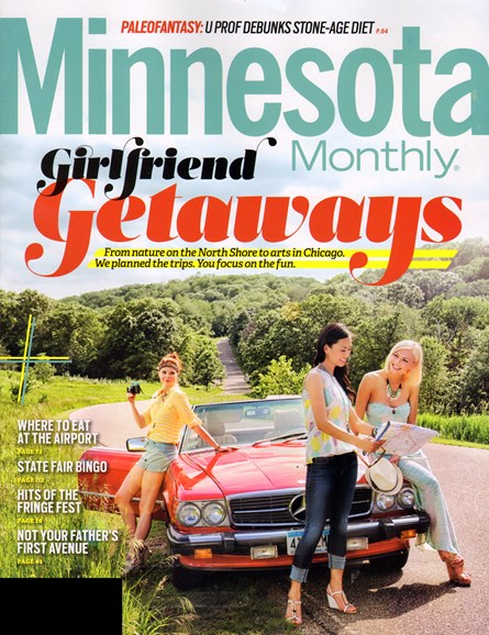 Minnesota Monthly Cover - 8/1/2013