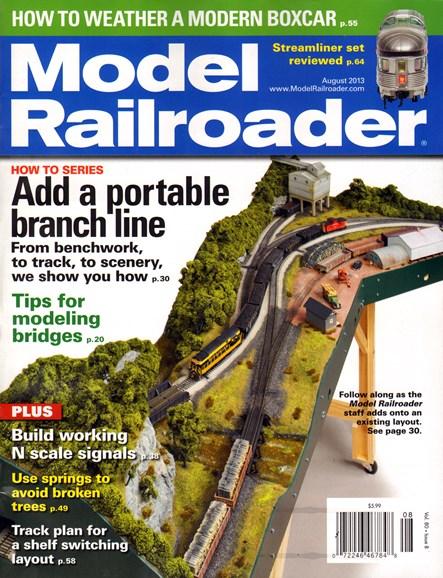 Model Railroader Cover - 8/1/2013