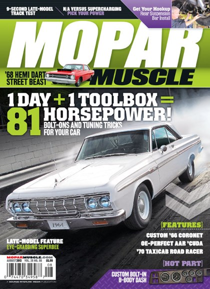 Mopar Muscle Cover - 8/1/2013