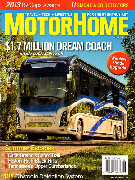MotorHome Cover - 8/1/2013