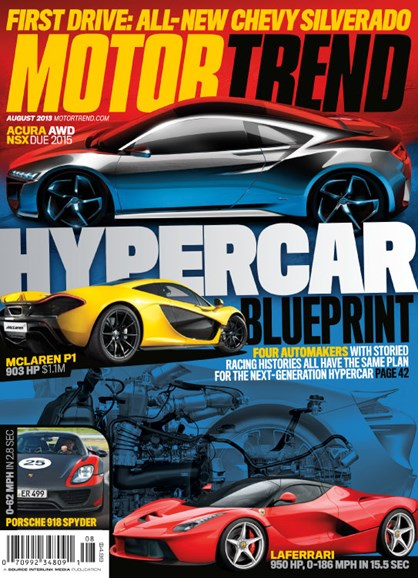 Motor Trend Cover - 8/1/2013