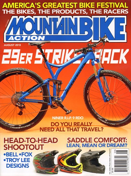 Mountain Bike Action Cover - 8/1/2013