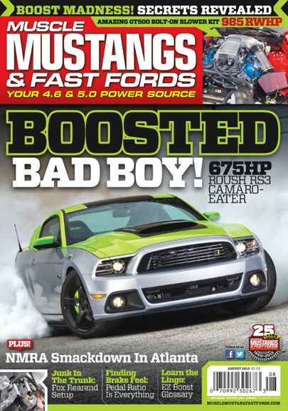 Muscle Mustangs & Fast Fords Cover - 8/1/2013