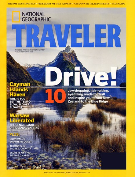 National Geographic Traveler Cover - 8/1/2013